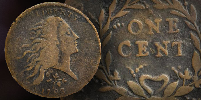 Historic 1793 Strawberry Leaf Cent Could Bring Over a Half-Million Dollars at Auction