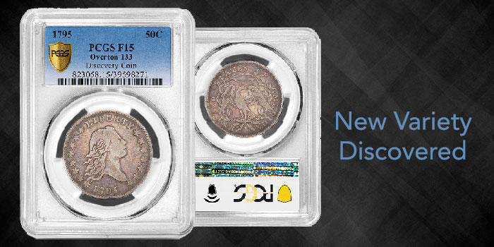 PCGS Confirms New 1795 Flowing Hair Half Dollar Variety