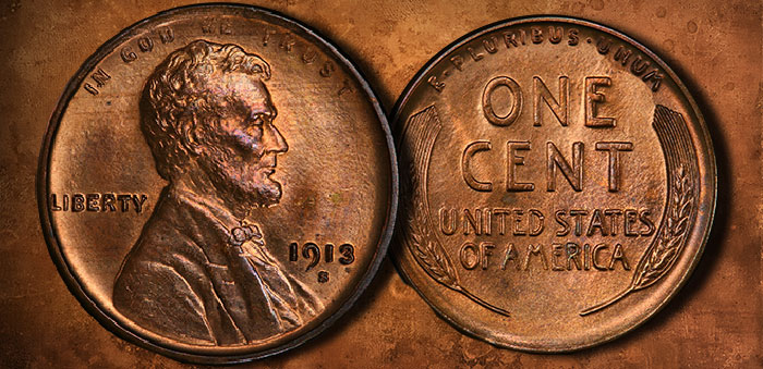 Top Pop 1913-S Lincoln Cent: Stack's Bowers Direct