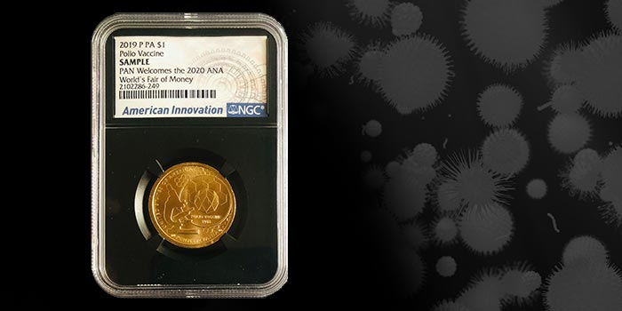 PAN Offering World's Fair of Money NGC Special Issue Innovation Dollars