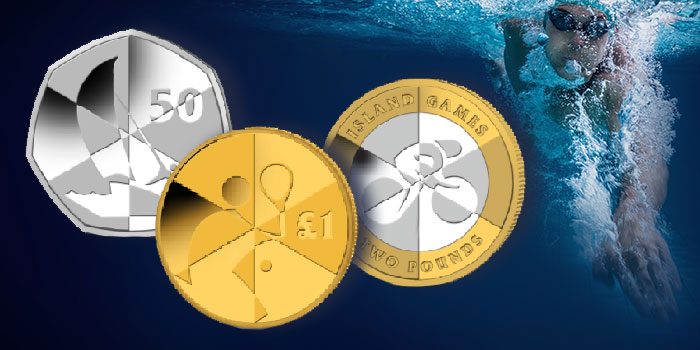 Island Games Commemorated on Three Unusual Circulating Coins