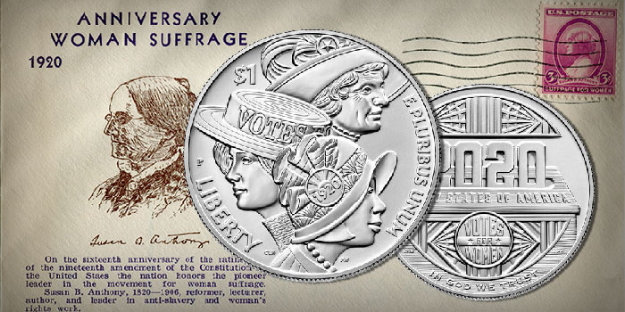 U.S. Mint Announces Price of Women's Suffrage, Colorized Basketball Coins