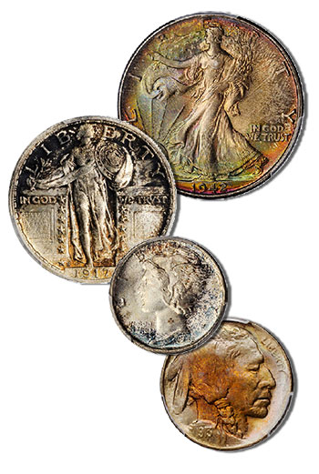Early 20th century United States coins