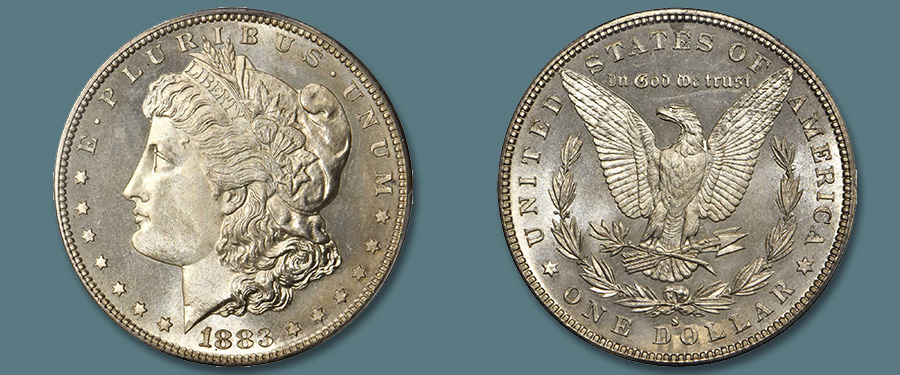 Finest Known 1883-S Morgan Dollar in Stack's Bowers August Auction