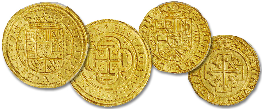 The Royal Presentation Escudo Coinage—the Pinnacle of Spanish Colonial Numismatics. Images courtesy Stack's Bowers Auctions