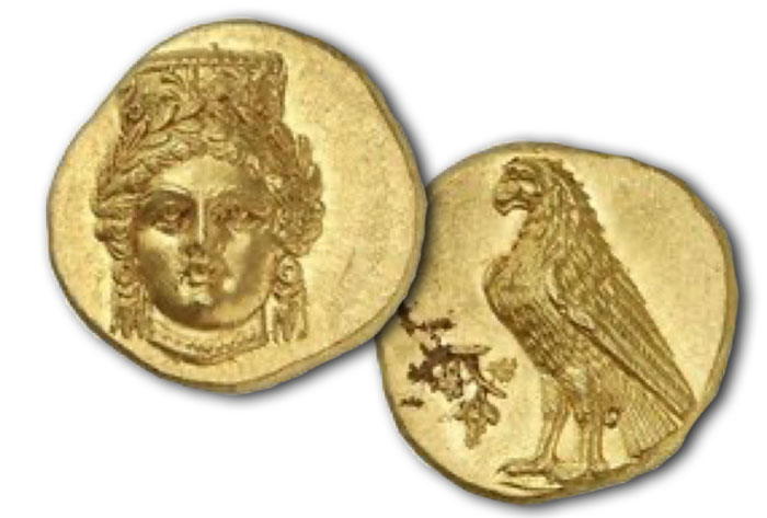 Abydos. Gold stater