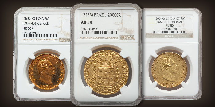 Special Selection of Brazilian Coins in Heritage Monthly Auction