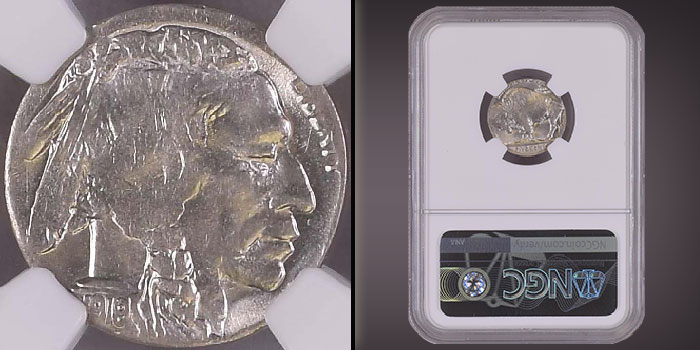 Mike Byers Mint Error News - Rare Buffalo Nickel on 10 Centavos Planchet