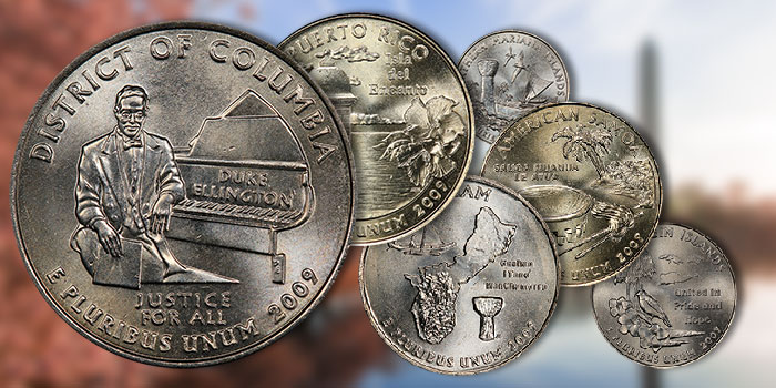 Annexing the District of Columbia & U.S. Territories to the 50 State Quarters Program