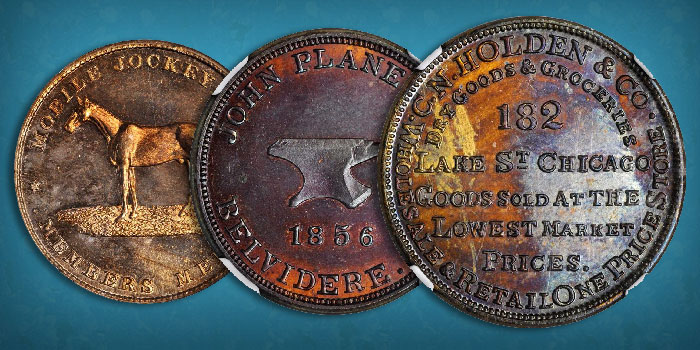 Gabriele Collection of U.S. Merchant and Trade Tokens, So-Called Dollars Featured in Stack's Bowers July Collectors Choice Auction