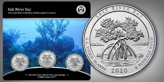 Salt River Bay America the Beautiful Three-Coin Set on Sale July 10