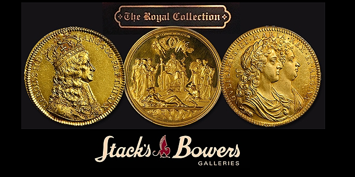 The Duke of Lansing Collection of British Coronation Medals, Stack's Bowers Auction