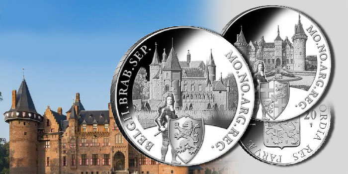 New Series of Dutch Silver Ducats Focuses on Country's Famous Castles