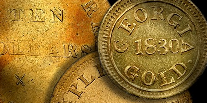 Early U.S. Coins – The Gold Coins of Templeton Reid