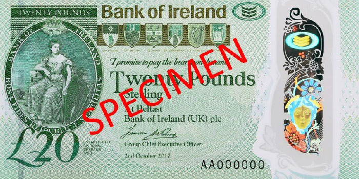 Northern Ireland Launches New £20 Polymer Banknotes on Safeguard