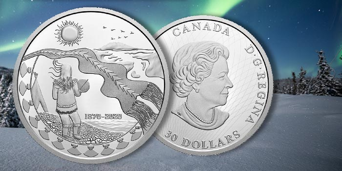 Royal Canadian Mint Recognizes 150th Anniversary of Northwest Territories Among New Collector Coins