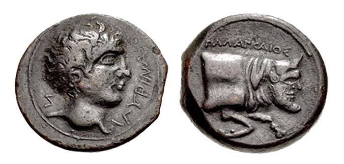 Sicily, Agyrion, hemilitron (AE20)