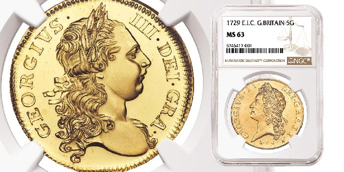 NGC-Graded British Gold Rarities Top Heritage Auctions World Coin Sale
