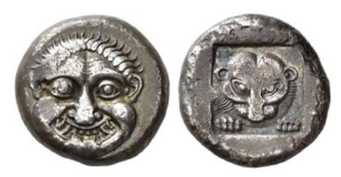 "Attica, Athens Tetradrachm of the ""Wappenmünzen series"" circa 515"
