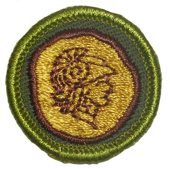 Boy Scouts 1961 Coin Collecting Merit Badge