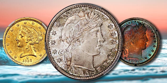 High-End Hansen Collection Barber Quarters in David Lawrence Rare Coins Auction