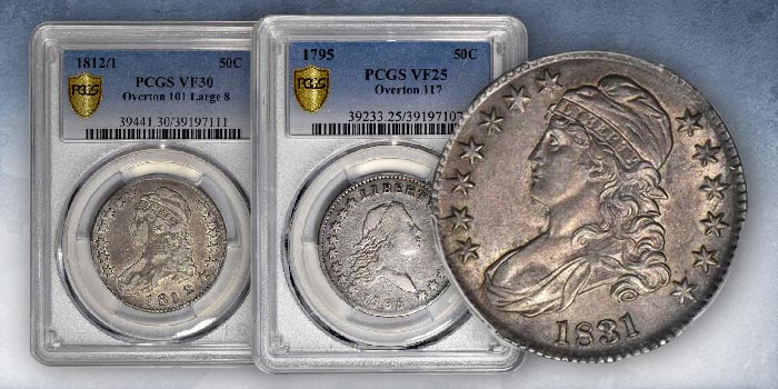E. Horatio Morgan Collection Half Dollars in Stack's Bowers Sept. 2020 Online Auction