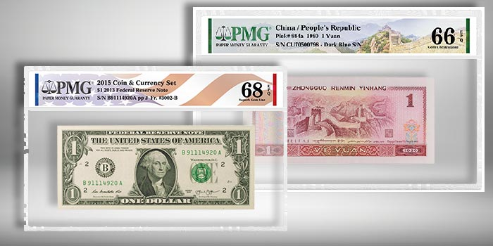 PMG Announces Two Certified Paper Money Labels in New Format