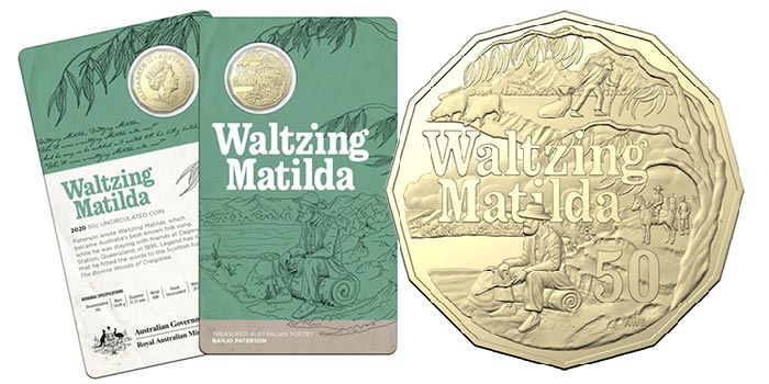 Waltzing Matilda: New Banjo Patterson Coins From Royal Australian Mint