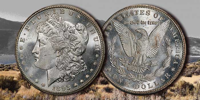 GreatCollections Offers Key Date 1893-CC Morgan Dollar in Mint State