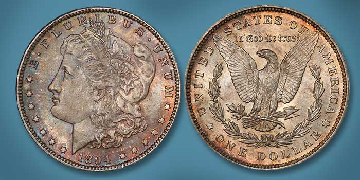 Incredible Gem 1894 Morgan Dollar Featured in Stack's Bowers Nov. Showcase Auction