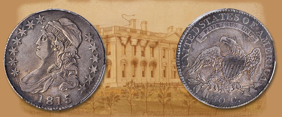 Choice VF 1815/2 Half Dollar Featured in Stack's Bowers September Collectors Choice Online Auction