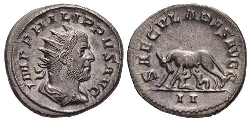 Antoninianus of Philip I