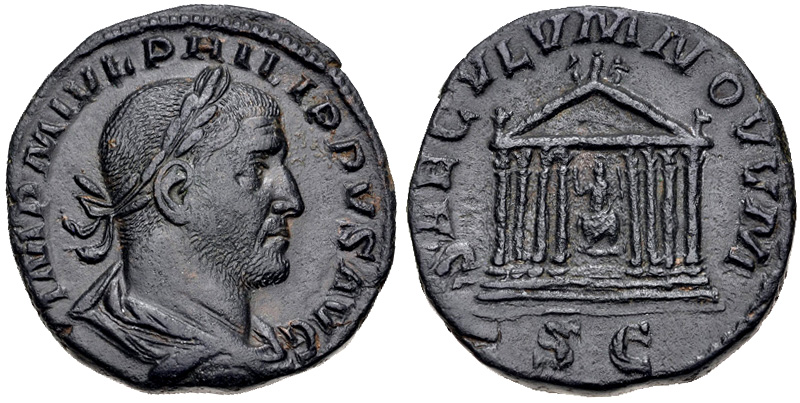 Sestertius of Philip I