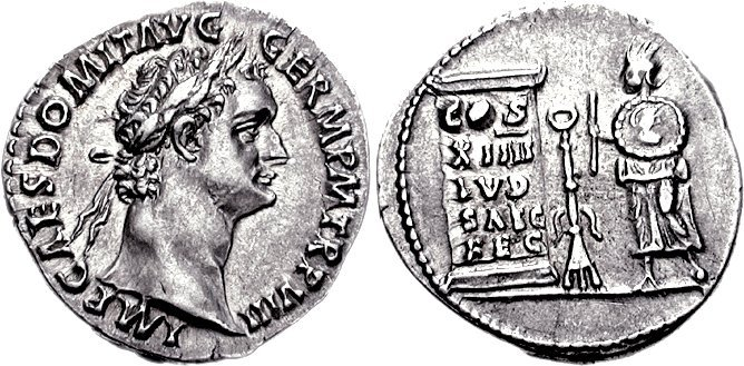 Denarius of Domitian