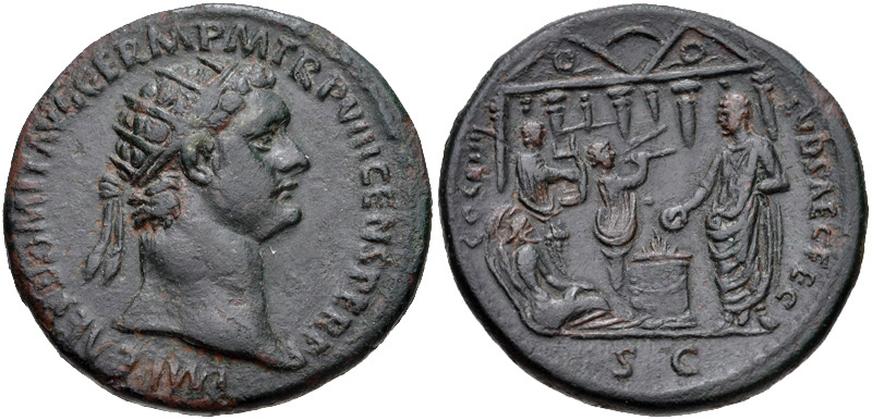 Dupondius of Domitian