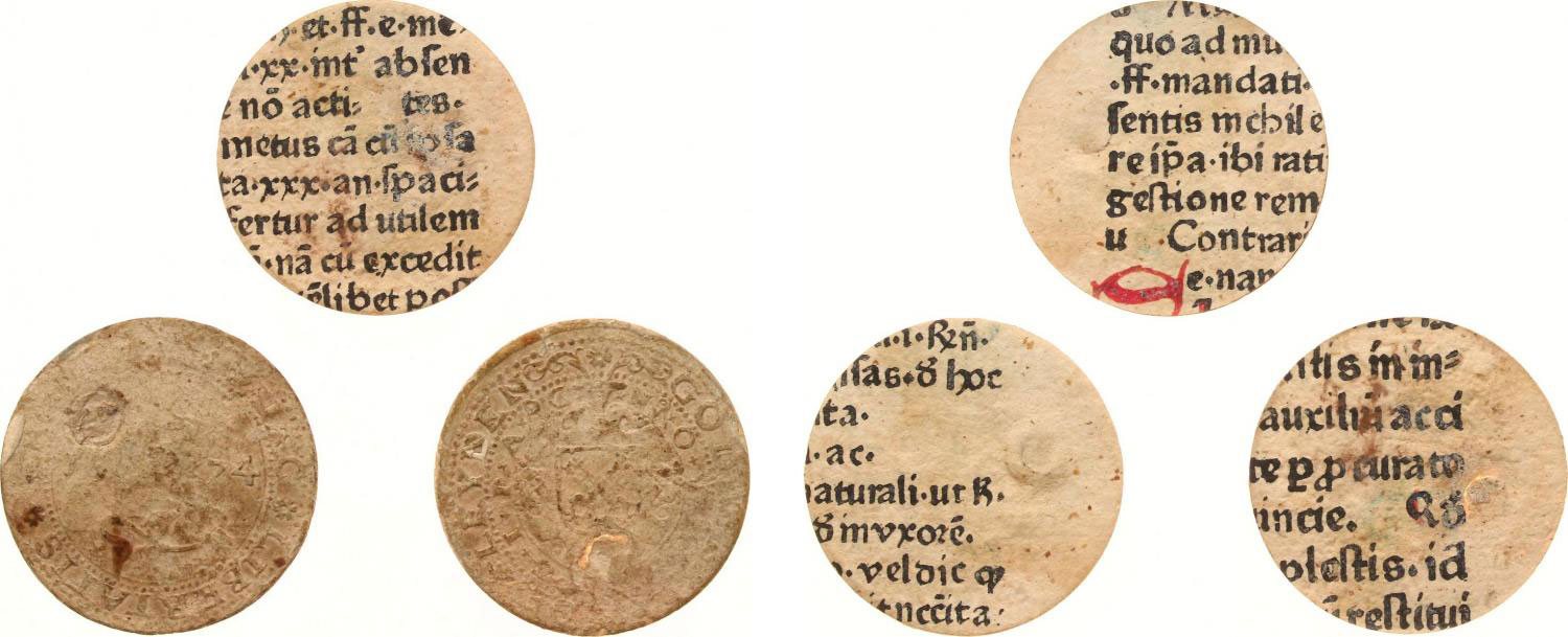 Netherlands Leiden 1574 Gulden pages slip apart to show sections of prayer books. – Photo courtesy of Heritage Auctions (www.HA.com) Europe MPO Auctions – Auction 58 lot 5715.
