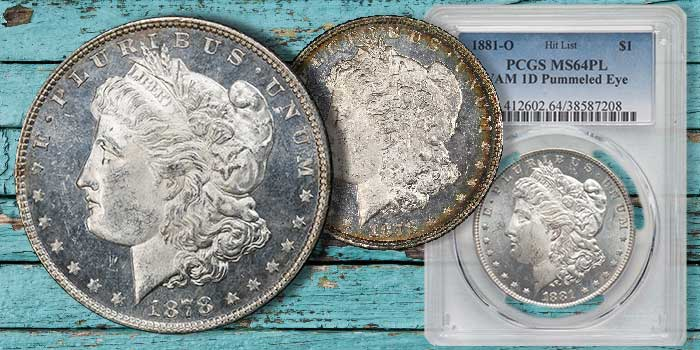 Silver Dollar Specialties Offered in Month-Long Heritage Auction