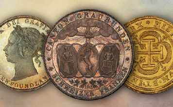 New world coin inventory at Atlas Numismatics - October 2020