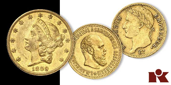 Gold Coins From Around the World Star in Künker Auction 340