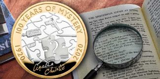 100 years of Agatha Christie - The Royal Mint UK
