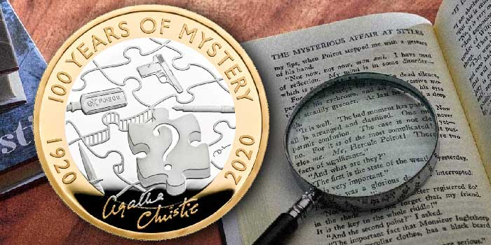 Royal Mint Celebrates '100 Years of Mystery' With New Commemorative  £2 Coin
