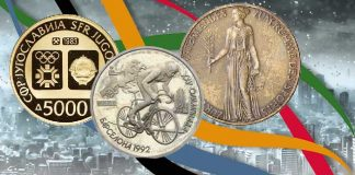 Shadows of the Past: Olympic Coins of Failed States by Tyler Rossi