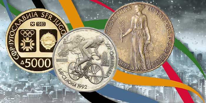 Shadows of the Past: The Commemorative Olympic Coins of Failed States