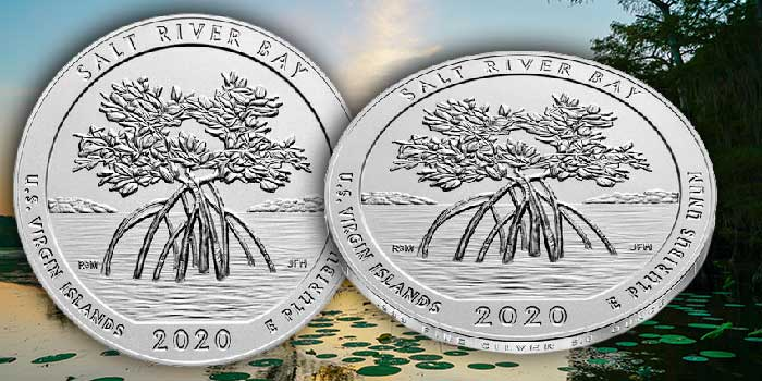 Salt River Bay National Park Five Ounce Silver Unc. Coin on Sale Sept. 18