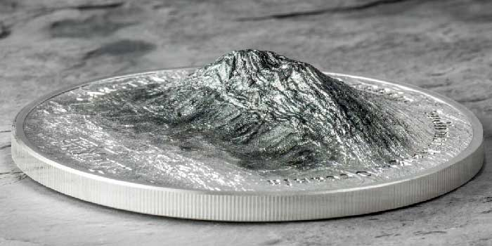 Carstensz Pyramid Newest Coin in Award-Winning High Relief 7 Summits Series