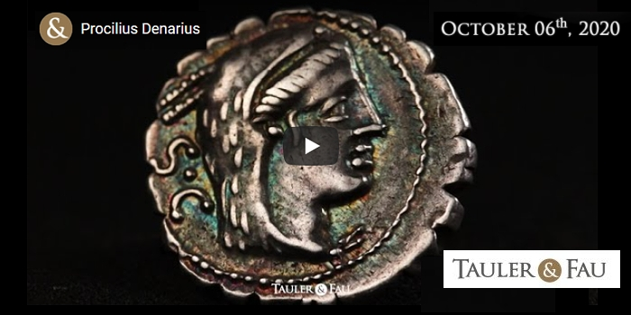 Ancient Coin Video Highlights From Tauler & Fau E-Auction 65