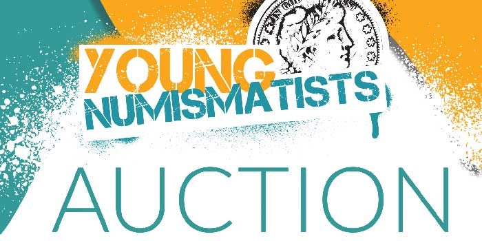 ANA: Young Numismatist 6th Annual Live Auction, eLearning Seminars