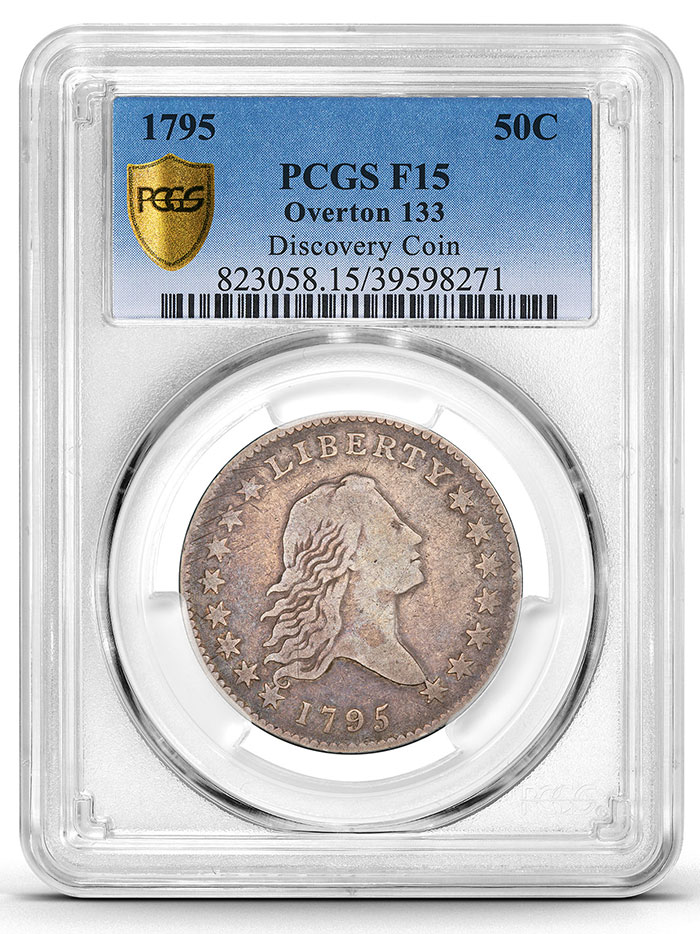 PCGS Grades 1st New 1795 Flowing Hair Half Dollar Variety Discovered in Nearly a Century