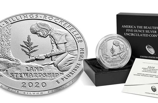 United States 2020 America the Beautiful Quarters - Marsh-Billings-Rockefeller National Historical Park three-coin set now available