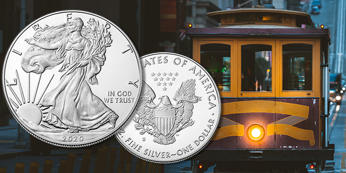 Final San Francisco 2020 American Eagle Silver Proof Coin With Classic 'Heraldic Eagle' Reverse on Sale Oct. 13